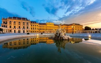 The Schönbrunn Palace, located in Hietzing, is just a short drive west of ES3's Vienna office.